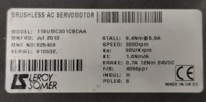 Servomoteur AC sans balais