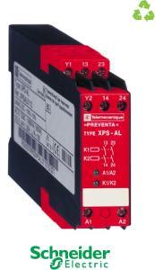2 circuits de sécurité, 24VCA/CC