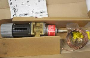 Thermostatic water valve