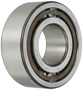 Cylindrical roller bearings, single row