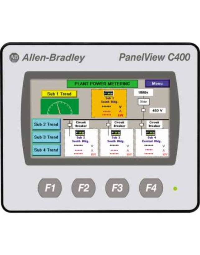 C400 PanelView color touch screen