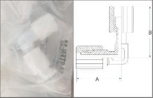 Flaretek® elbow adapter.