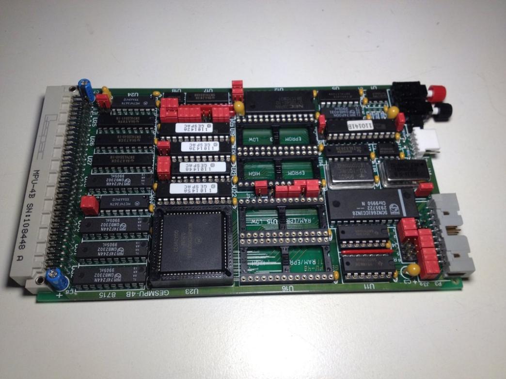 Processor board MPU 68000 - 8715