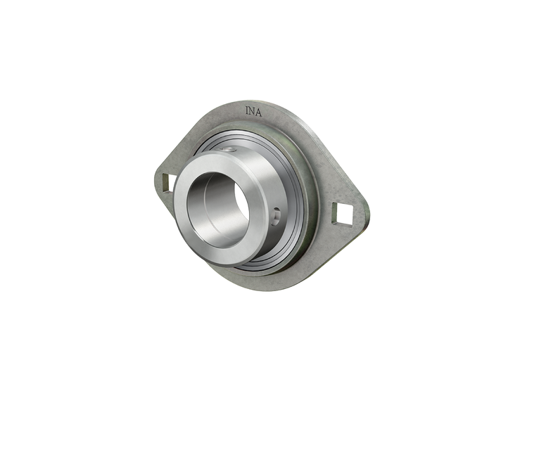 Flanged housing unit