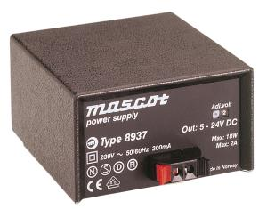 Regulated power supply 24V, 750mA